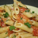 Penne Pasta with Spicy Tomato Sauce