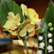 Gumpaste Hydrangeas