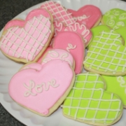 Valentine's Themed Cookies