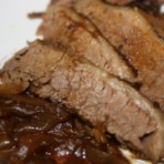 Baked Beef Brisket in Red Wine
