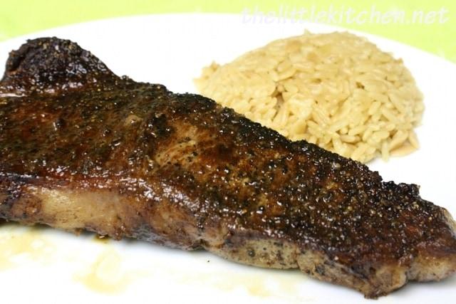 Pan-Seared Steaks | The Little Kitchen