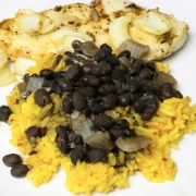 Black Beans and Rice Con Pollo
