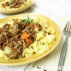 Slower Cooker Short Rib Ragu