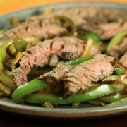 Beer Marinated Fajitas