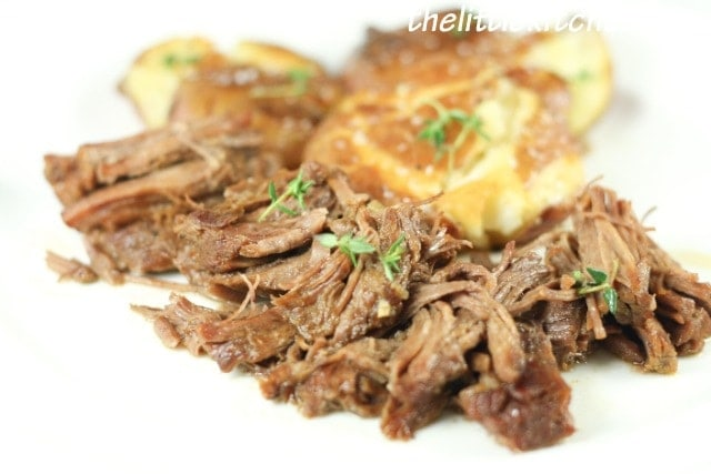 Classic Roast Beef and Smashed Potatoes from Cristina ...