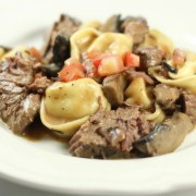 Beef Short ribs in a Marsala Cream Sauce