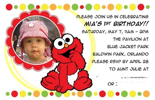 Happy Birthday Mia Elmo Printables Too