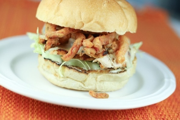 Red Rocker Margarita Chicken (Grilled Chicken Sandwich)