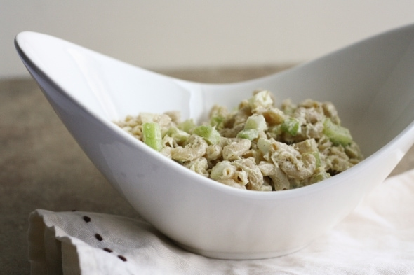 Tuna Pasta Salad with Celery and Egg | the little kitchen