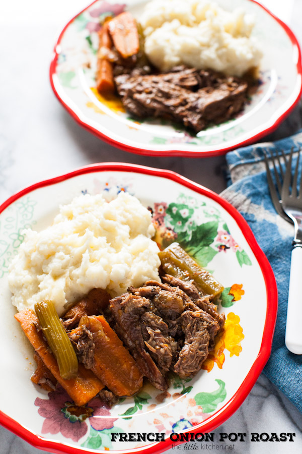 French Onion Pot Roast (Slow Cooker) Recipe — Dishmaps