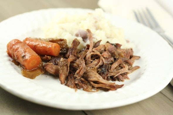 French Onion Pot Roast (Slow Cooker) Recipe | the little kitchen
