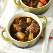 Irish Beef Stew (Slow Cooker)