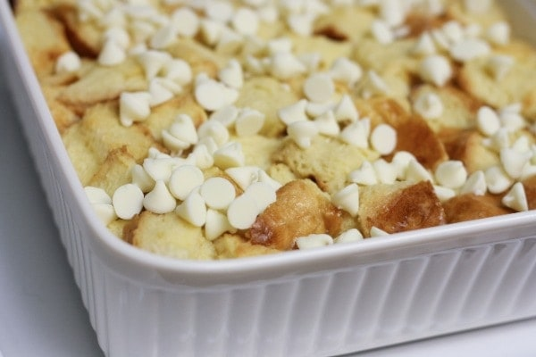 white chocolate chips – my favorite are Hershey's Premier White ...