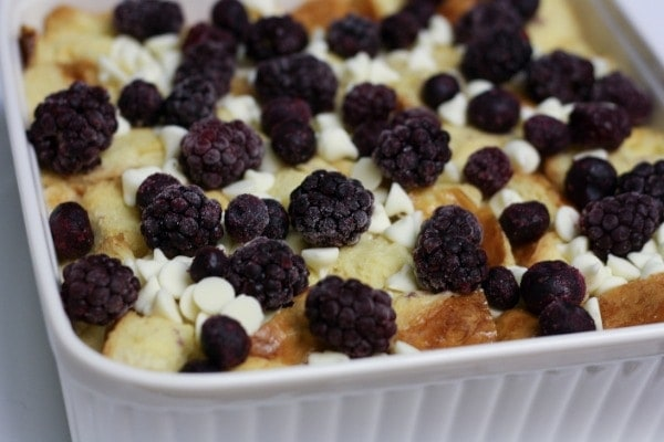 Add frozen berrries and/or cherries. I added a mix of blackberries ...