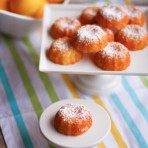Mini Meyer Lemon Bundt Cakes from thelittlekitchen.net