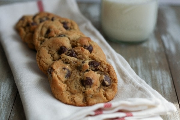 New York Times Chocolate Chip Cookies | The Little Kitchen