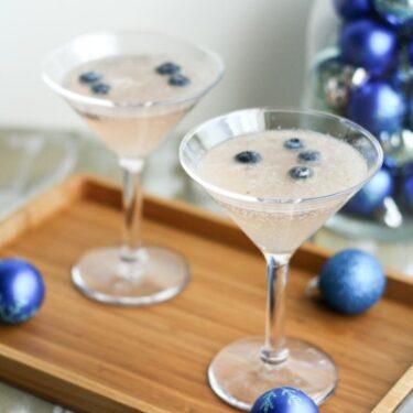 Frost Bite Mocktail from thelittlekitchen.net