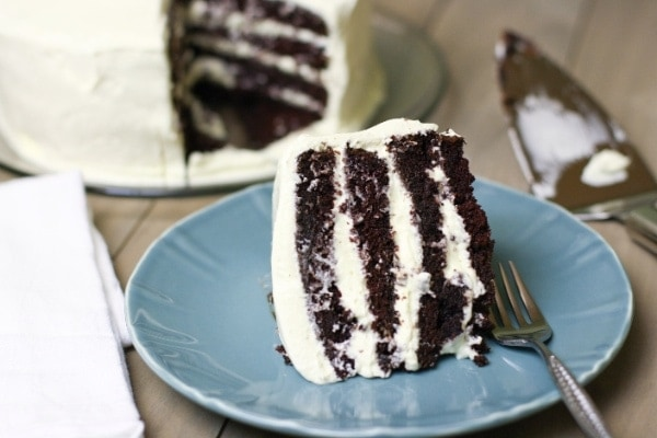 Chocolate cool whip cake
