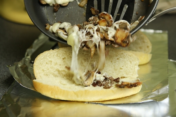 Cheesesteaks from thelittlekitchen.net
