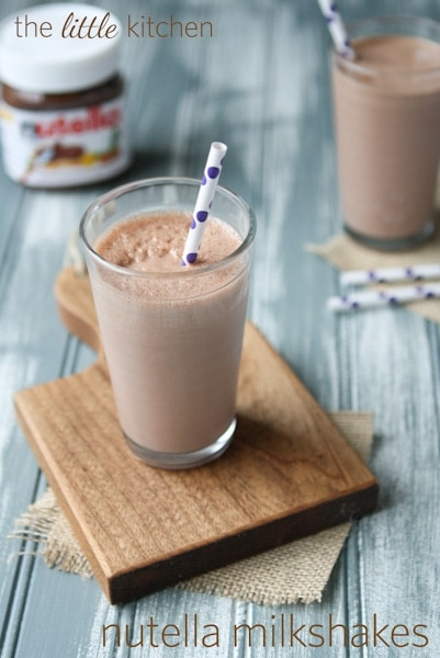 Strawberry Nutella Milkshake Recipes — Dishmaps