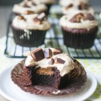 Biscoff Butter Cup Cupcake