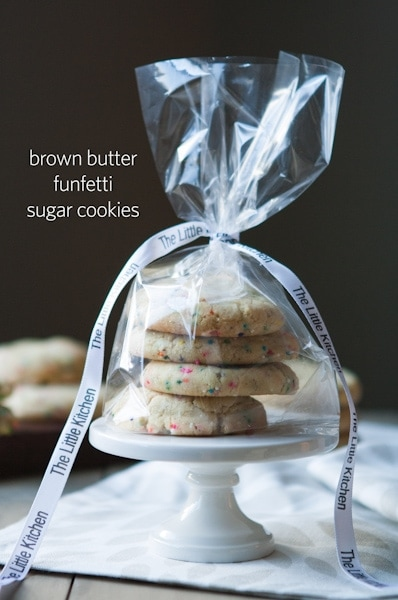 Brown Butter Funfetti Sugar Cookies vertical