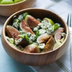 Fig & Blue Cheese Salad from the little kitchen