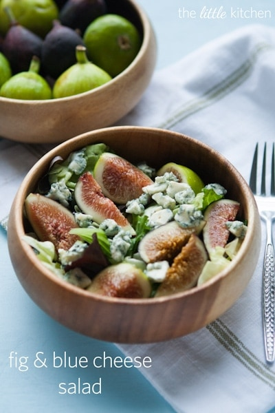 Fig & Blue Cheese Salad Recipe | the little kitchen