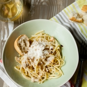 Linguine and Clam Sauce