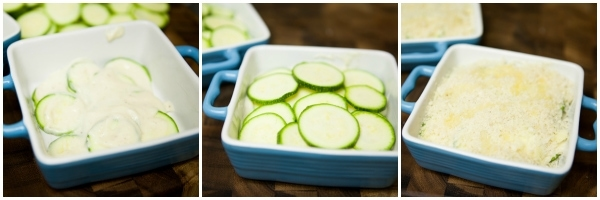 Zucchini Gratin from The Little Kitchen