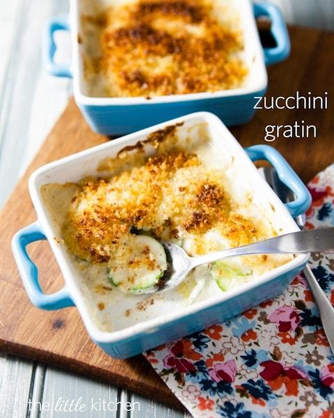 Zucchini Gratin from The Little Kitchen