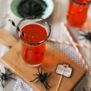 Hocus Pocus Fizz Drink from The Little Kitchen