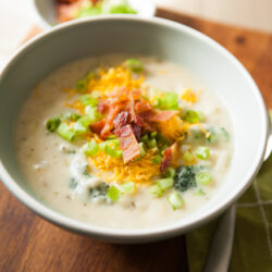 Loaded Baked Potato Soup from The Little Kitchen