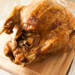 Savory Herb Rub Roasted Turkey