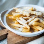 Brown Butter Gorgonzola Fries
