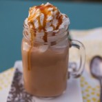 Pumpkin Spice Latte with Salted Caramel