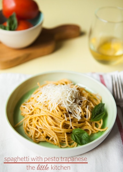 Spaghetti with Pesto Trapanese & the KOHLER Food and Wine Experience ...