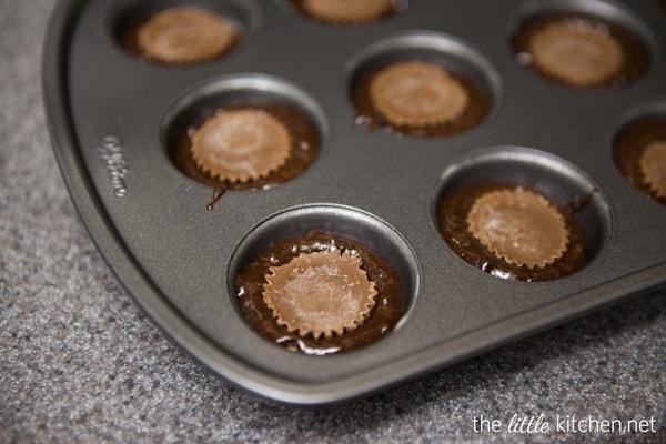 Candy Stuffed Brownie Bites Recipe — Dishmaps