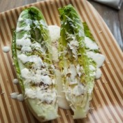 Grilled Caesar Salad from The Little Kitchen