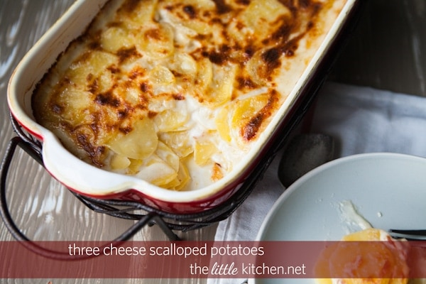 Triple-Cheese Potatoes Recipes — Dishmaps
