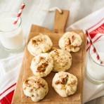White Chocolate Toffee Crunch Cookies