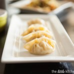 Chinese Potstickers or Dumplings from The Little Kitchen