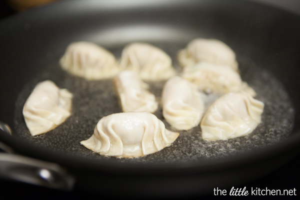 How to Make Chinese Potstickers from The Little Kitchen