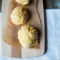 Garlic Cheddar Biscuits from The Little Kitchen