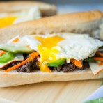 Lemongrass Beef Banh Mi from The Little Kitchen