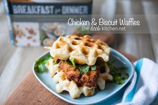 Chicken & Biscuit Waffles