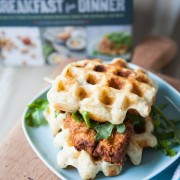 Chicken & Biscuit Waffles from thelittlekitchen.net