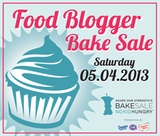 2013 Food Blogger Bake Sale