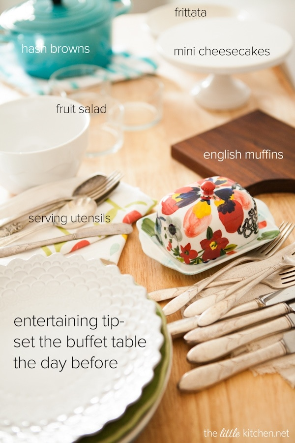 Entertaining tips