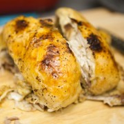 Lemon Pepper Roast Chicken in a Slow Cooker
